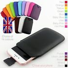 Quality Leather Slim Pull Tab Flip Pouch Sleeve Phone Case Cover for Google