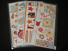 Lot of Cabana Jumbo Great Length Stickers; Free Shipping. Creative Memories
