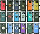 New! OtterBox Defender NFL Series Case For Samsung Galaxy S6 & Belt Clip