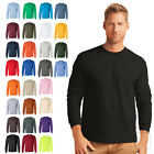 Gildan Ultra Cotton Mens Long Sleeve Tee Crewneck S-5XL - 2400 image