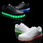 Kids Light Up Shoes Glow in The Dark Sneakers LED Casual Luminous Trainers Lot