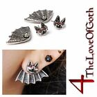 Red Eyed BAT Earring - One or Pair - Punk Halloween Gothic