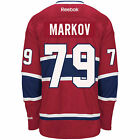 Andrei MARKOV Montreal Canadiens Reebok Premier Officially Licensed NHL Jersey
