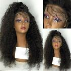 100% Brazilian Remy Human Hair Afro  Curly  Women Lace Front/Full Lace Wigs