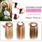 Fits like a Halo Flip On Wire Human Hair Filp IN Remy Extensions  Miracle Wire
