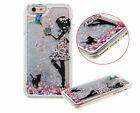Dynamic Liquid Glitter Quicksand 3D Pattern Hard Case Cover For iPhone  Samsung