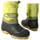 WOMEN WINTER BOOTS ANKLE HIGH SNOW ICE RAIN HARD SOLE LADIES FUR BOOTS SIZE 4-8