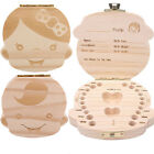 Внешний вид - Mini Milk Teeth Wood Storage Box Boy Girl Tooth Organizer Baby Kids Save Case