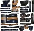 """Men's belt. Leather Dress Belt Automatic lock Click Comfort New Buckle UP to 50"""""""