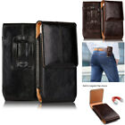 Vertical Leather Phone Case Cover Belt Clip Holster Loop Pouch for Cell Phones