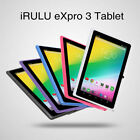 """iRULU eXpro3 7"""" HD Screen Tablet PC 8GB Android 6.0 Quad Core Dual Cam WIFI GMS"""