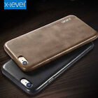 X-Level Luxury THIN PU Leather Shockproof Back Case Cover for iPhone 7/6/6s Plus