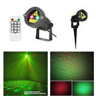 Waterproof Landscape Garden Projector Move Laser Xmas Party Stage Light Outdoor