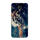 For Meizu M3 Mini Note Soft TPU Case Back Cover Shell Wild Animal Mobile Phone