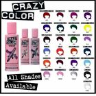 Crazy Color Semi-Permanent Conditioning Hair Dye Colour Cream 100ml