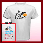 TOUR DE FRANCE 2017 DUSSELDORF Logo NEW 2 Sides Men's T-Shirt S M L XL 2XL 3XL