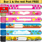 CHILD SAFETY ID wristband REUSABLE - Genuine INFOBAND made in Sweden - Au seller