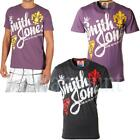 Smith & Jones Printed Front Crew Neck T-Shirt  Mens Size