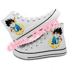 personality Dragon Ball Anime Men and women leisure High canvas shoes
