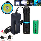 Внешний вид - 10000Lm XM-L T6 LED 26650/18650 Scuba Diving 100M Flashlight Fishing Torch Lamp