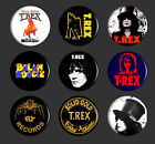 T.REX Badges , Marc Bolan Badges