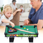 "19""24""29"" Billiard Table Toy Table Top Pool Table Game Xmas Gift for Kids"