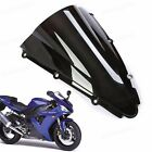 New 1Pcs ABS Double Bubble Windscreen Windshield for Yamaha YZF-R1 2000-2001