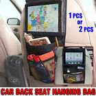 Car Back Seat Hanging Buggy Bag Storage Organizer Pocket Travel iPad Holder NEW