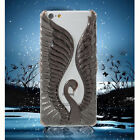 LOVE CRAZY LUCKY STAR Fluorite 3D Swan PC Cover Case for i Phone 6s Plus /6 Plus