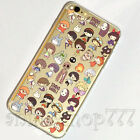Studio Ghibli Anime iPhone 5s se 6 6s 7 Plus Case Silicone TPU Soft Free Ship #7
