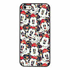 Mickey Mouse Minnie Disney Floral PHONE CASE COVER fits iPHONE 4 5 6 7 for sale  Chelmsford