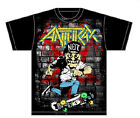 Anthrax: Skater Guy T-Shirt   New  Official  Free Shipping