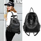 Women's Faux Leather Backpack Rucksack Daypack Travel Book School bag Purse Cute