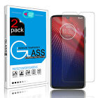 100% Premium Tempered Glass Screen Protector Film for Motorola Moto Z Play/Droid