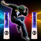 LED Dancing Water Speakers Music Fountain Light for iPhone iPad Computer Lapt K#