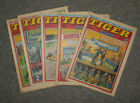 TIGER & SCORCHER COMICS x 5  -1979  - (G3642M)