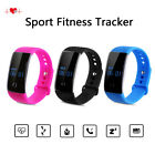 Diggro Sport Fitness Tracker Bluetooth Smart Watch Heart Rate Monitor Wristband