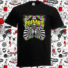 PRIMUS With Dinosaur Jr Tour Concert Rock Band Men's Black T-Shirt Size S-3XL image