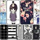 "For ZTE Blade A2 Plus 5.5"" 3D Emboss Soft TPU Black keyboard Case Cover Round"