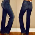 $189 Seven 7 For All Mankind Karah Fitted Bootcut High-Rise Jeans Medium 24-27