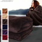 Warm Soft Throw Over Sofa Bed Couch Settee Bedding Cover Fleece Blanket Throws