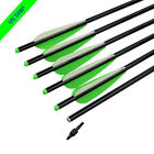 Crossbow Bolts Aluminum Arrows 16 18 20 22 inch Archery Targets Hunting Points