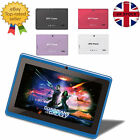 "GRADE A 7"" TABLET FAST BTC® FLAME HD WIFI ANDROID DUAL CAMERA HDMI BLUETOOTH 8GB"