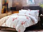 Queen King  DUVET/Quilt/Comforter COVER SET 100% COTTON  with pillow shams