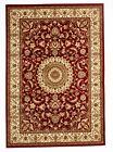 Large Floor Rug Persian Traditional Red Ivory Pattern Design Carpet Good Quality