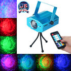 US RGB LED Water Wave Ripple Effect Projector DJ Music Party Stage Laser Light