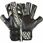 Football Goalkeeper Gloves GK Prime Contact Black Roll Finger FingerSave Gloves