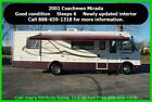 2001 Coachmen Mirada Used Gas Class A Motorhome Coach Motor Home RV MH Chevrolet
