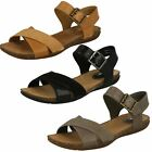 Ladies Clarks Casual Summer Sandals with Buckle Autumn Air
