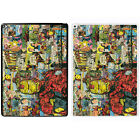 Comic Book Printed PC Case Cover For Apple iPad - Iron Man - S-A908